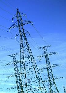 Изображение линии электропередачи