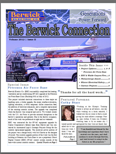 Berwick Newsletter Volume 2012 Issue II
