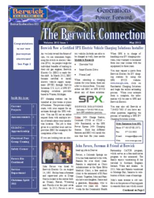 Newsletter 2012 1 Graphic
