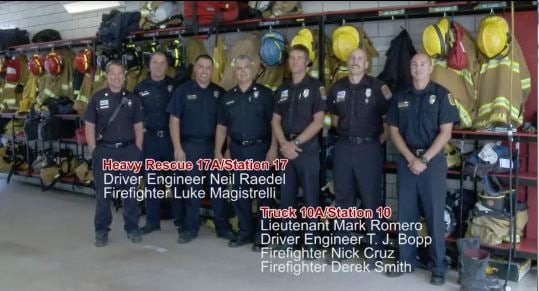 Image of Colorado Springs firefighters
