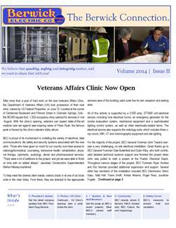 Image of BEC's Fall 2014 Newsletter