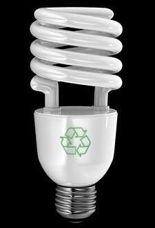 image of energy efficient light bulb