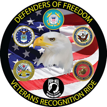 Defenders of Freedom Veterans Recognition Ride logo